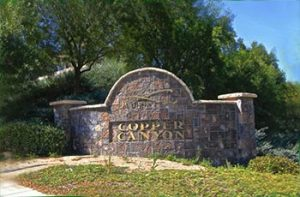 Copper Canyon master planned community