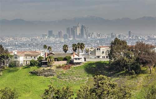 Baldwin hills homes with views
